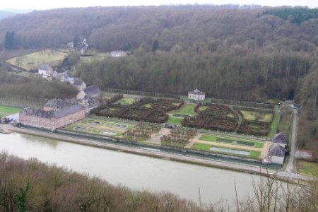Los laberintos del Castillo de Freÿr, Dinant