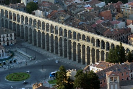 Fotos aéreas: Segovia desde el cielo