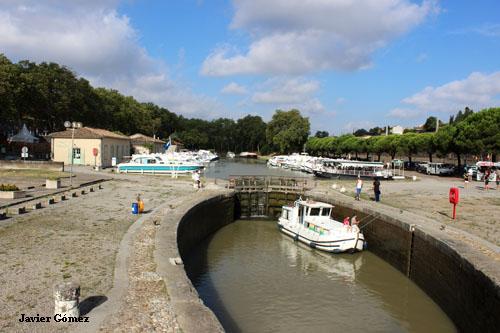 Carcassonne canal du Midi