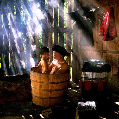 china e hijo