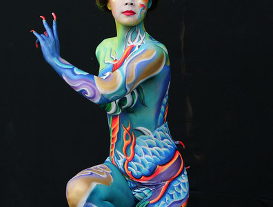 Arte corporal, maquillaje para el alma desnuda