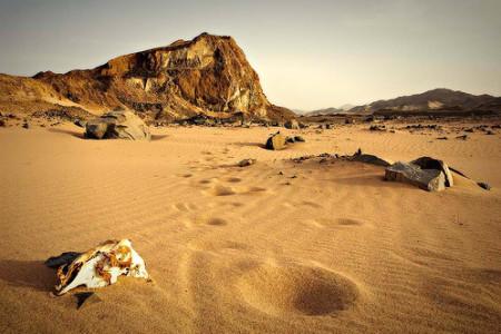 Fotos del desierto, soledad extrema