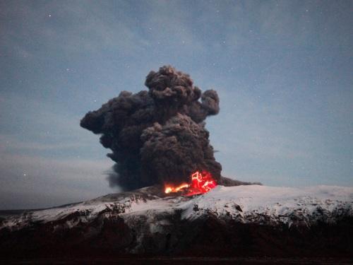 Erupción volcánica en Islandia 2010
