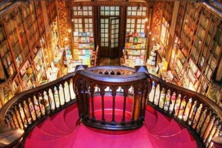 La libreria más bella del mundo, en Oporto