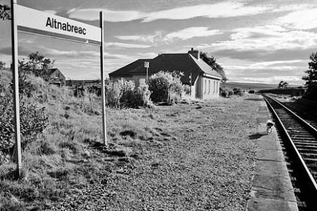 Fotos de estaciones de tren en Escocia