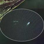 Foto de Google Earth sobre el lago Ness