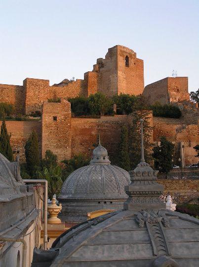 La Alcazaba desde el Ayuntamiento