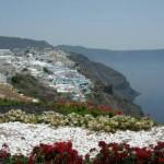 Santorini en fotos, donde cielo y mar se funden