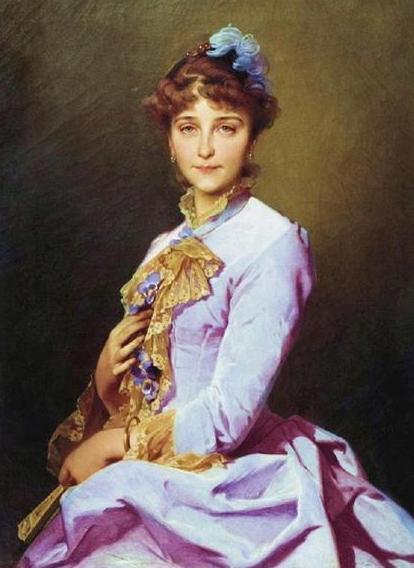 Ivan Makarov, retrato de una mujer