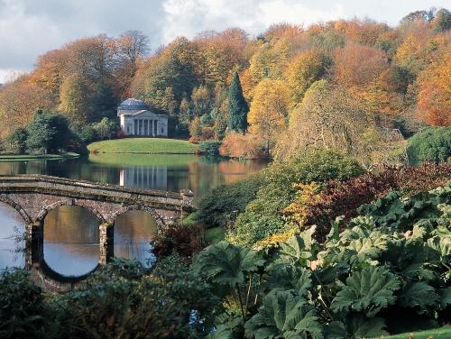 Jardin Stourhead en Wiltshire