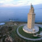 Fotos de la Torre de Hercules, patrimonio de A Coruña