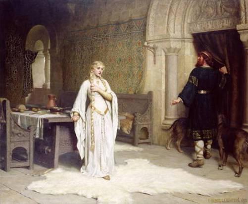 Lady Godiva por Edmund Leighton, 1892