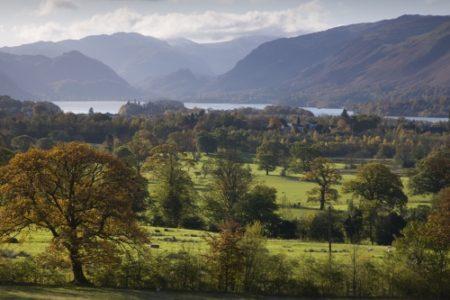 Los verdes paisajes de Gran Bretaña