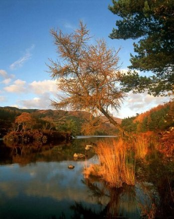 Lago en Galloway