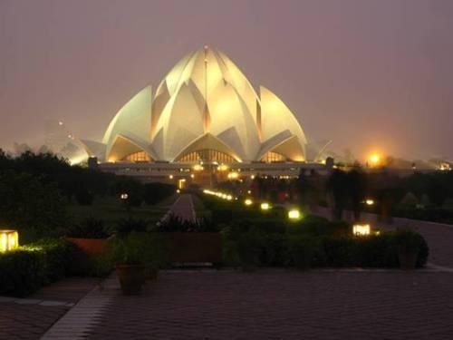 Templo Loto India