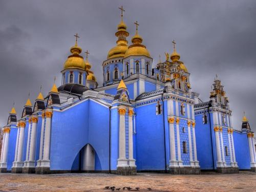 Monasterio de San Miguel de las Cupulas Doradas en Kiev