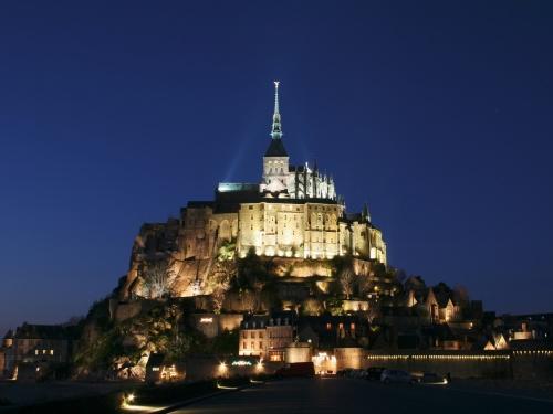 Monte Saint Michel en la Bretaña Francesa