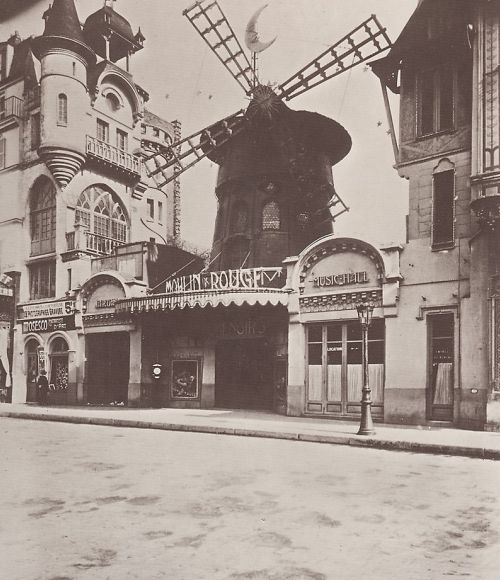 Moulin Rouge año 1900