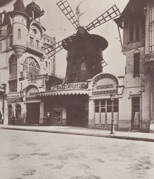 Moulin Rouge año 1900