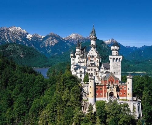castillo Neuschwanstein en Baviera