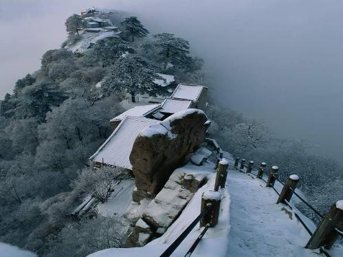 Nieve en China