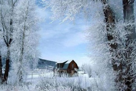 Paisajes en la nieve, nostalgia del invierno