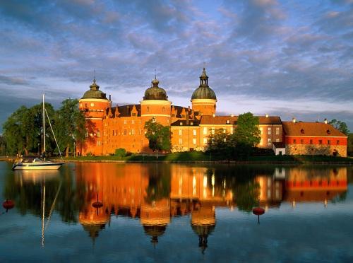 Castillo Gripsholms en Suecia