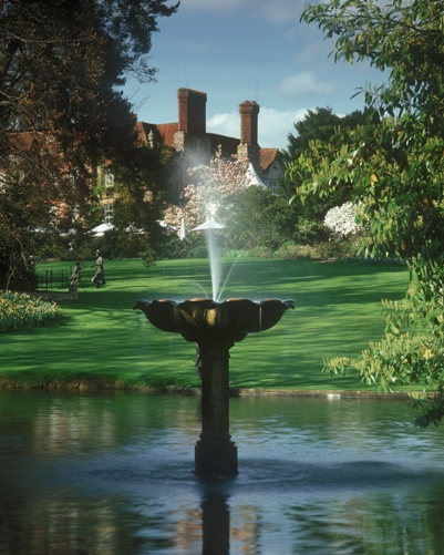 Jardines de Pashley Manor en East Sussex