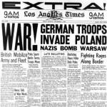 El inicio de la Segunda Guerra Mundial en fotos