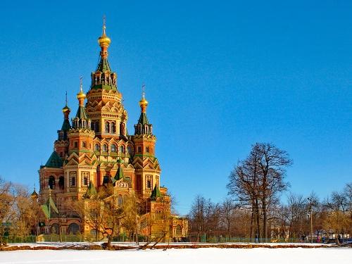 Catedral de San Pedro y San Palo en San Petersburgo