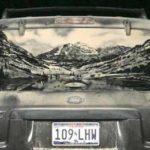 Dust Art, buena excusa para no lavar el coche