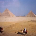 Las Piramides de Gizeh