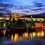 Ciudades de Europa, brillan en la magica noche