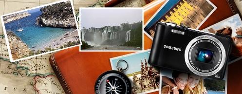 Camara de fotos de viaje
