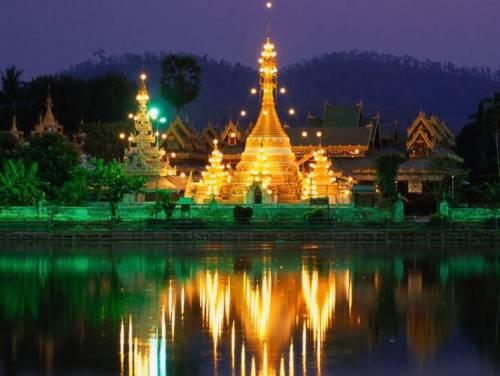 Tailandia de noche