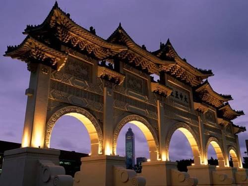 Monumento en Taiwan