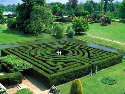 Jardines del castillo Hever, en Kent